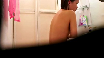 Voyeur, Shower, Spy cam, Asian shower