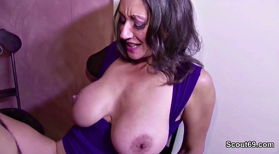 Hairy mature, Hairy pussy fuck, Big tits milf