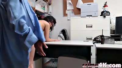 Hairy pussy, Roleplay, Police officer