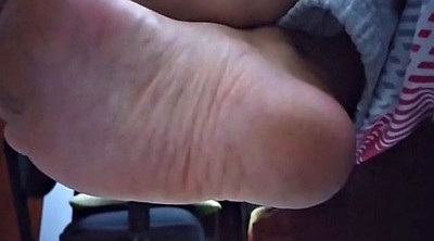Hidden, Hidden cam, Toes, Sole