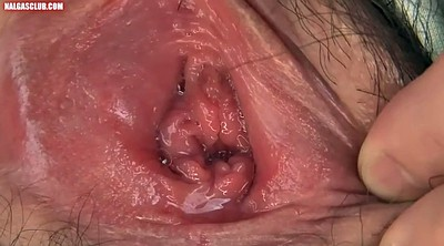 Asian, Contractions, Hairy masturbate, Hairy wet, Wet and, Solo wet