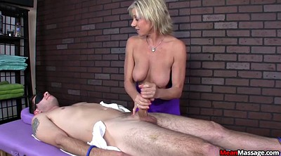 Mature massage, Granny handjob, Granny massage, Blonde granny, Mature femdom, Massage handjob