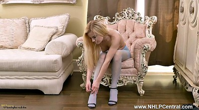 Nylon, Blonde pantyhose, Pantyhose blonde, Spanks