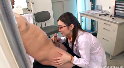 Cfnm blowjob, Asian nurse