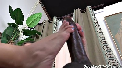 Footjob cumshot, Suck foot, Black footjob