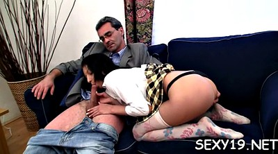 Teacher, Russian mature, Old teacher, Russian old, Young tits