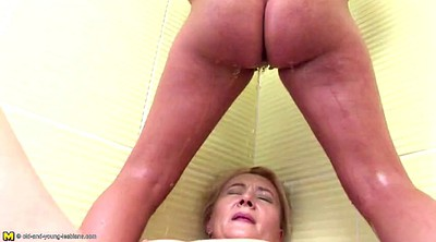 Pissing, Granny lesbian, Old mature, Mom pissing, Mom and daughter, Lesbian mom