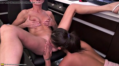 Daughter, Lick, Lesbian mom, Kitchen mom, Daughter fuck, Mom and daughter