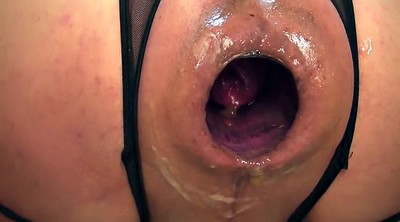 Gaping pussy, Wet pussy