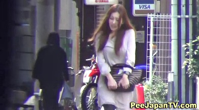 Piss, Street, Asian voyeur, Asian public, Pissed, Piss in