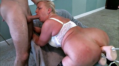 Anal mature, Double dildo