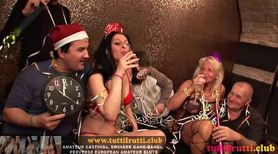 Group, Swinger party, Milf gangbang