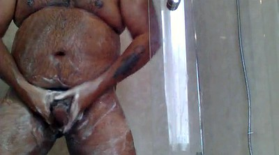 Shower, Hairy solo, Granny bbw