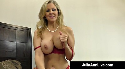 Julia ann, Mature foot
