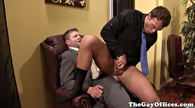 Muscle hunk, Gay office