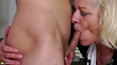 Student, Grandma, Milf and boy, Milf young boy, Mature boy, Granny boy