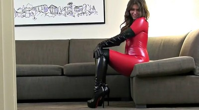 Catsuit, Knees, Boot fetish