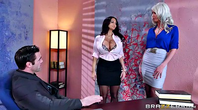 Office foot, Boss, Cast fetish, Ava addams