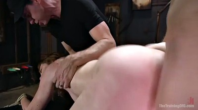 Tied, Tied tits, Redhead hairy, Missionary