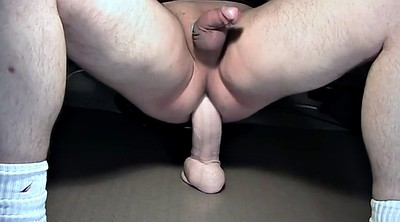Long dildo, Dildo ride, Ass dildo