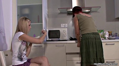 Mom kitchen, Old and young girl, Young girls, Old teen, Old lesbian, Mom lesbians