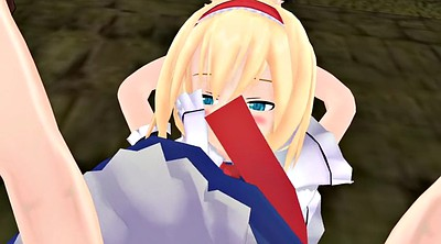Mmd, Touhou, Alice