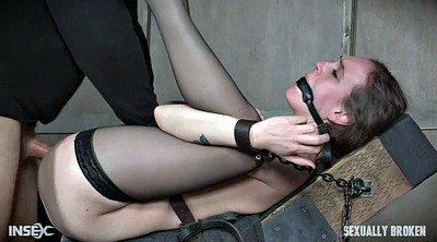 Brutal, Anal squirt, Bdsm squirt, Bound, Throat fuck, Brutal anal