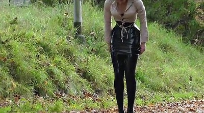 Latex, Skirt, Lady b, Black lady, Skirting