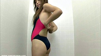 Swimsuit, Fitness, Japanese voyeur