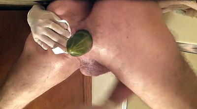 Anal dildo, Stretch, Vegetables