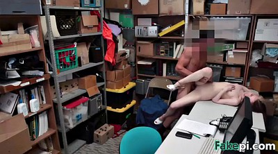 Shoplifter, West, Punished, Shoplifting, Hard punish, Alina west