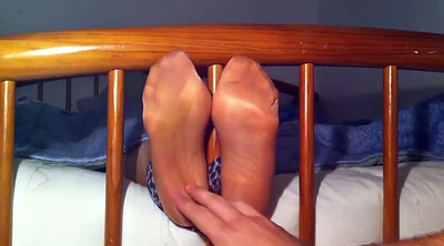 Tickle, Nylon foot, Tickling, Nylon feet