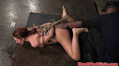 Squirt, Squirting, Hogtied, Squirting dildo