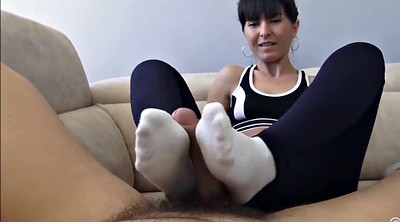 Foot job, Sock, Feet job, White sock, Socks feet, Socks job