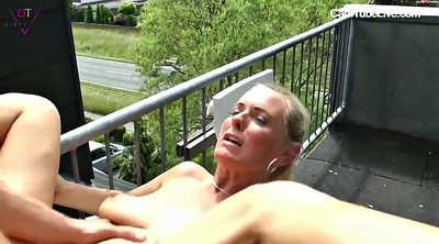 Group sex, Balcony