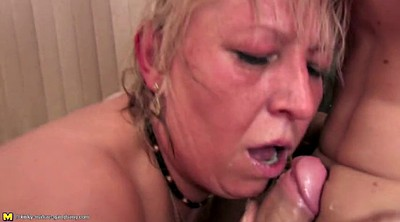 Mature gangbang, Granny gangbang, Old mom, Granny group