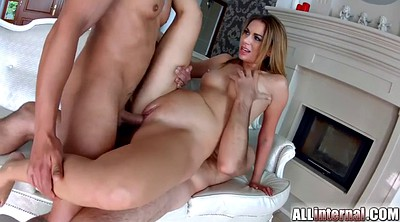 Group creampie, Black on blonde