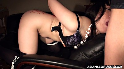 Bdsm, Asian bdsm, Asian ass, She, Oiled ass