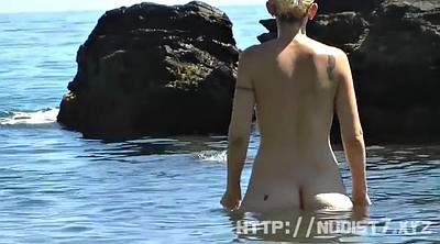 Beach, Nudist, Voyeur beach