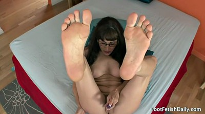Silk, Mature feet, Foot solo, Mature solo
