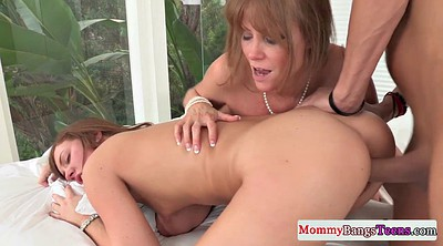 Mother and daughter, Passion, Mother fucking, Mother daughter, Young mother, Teacher threesome