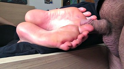Sole, Small dick, Foot feet, Rub cock