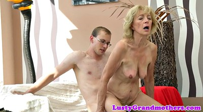 Grandma, Saggy mature, Granny creampie, Saggy