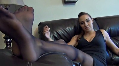 Nylon feet, Nylon soles, Foot sole