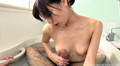 Shower, Bathroom, Handjob pov