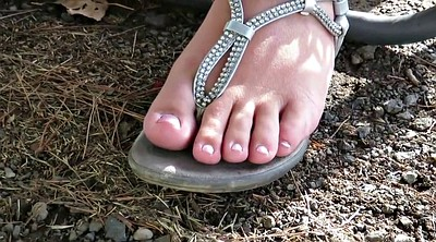 Diamond, Bbw foot