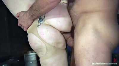 Slave, Hairy anal, Lauren, Chubby anal, Hairy redhead, Ass slave