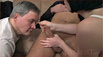 Creampie compilation, Cuckold clean up