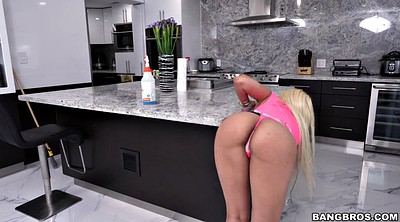 Maid, Luna star, Kitchen milf