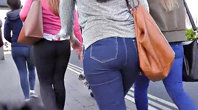 Compilation, Jeans, Candid